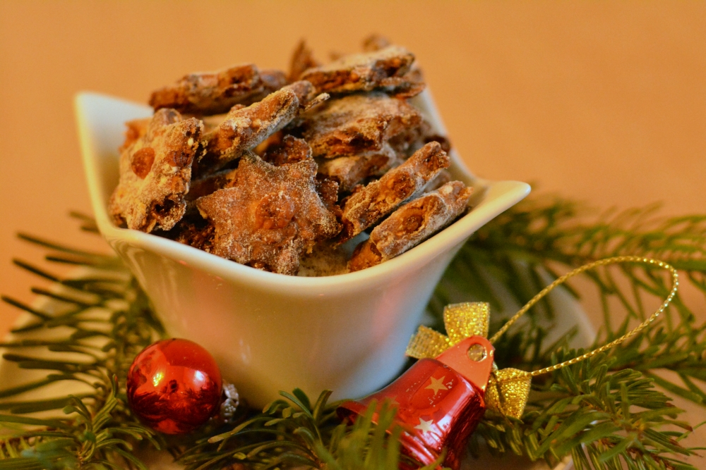 For our December activity, we're baking delicious dog biscuits. Yummy!